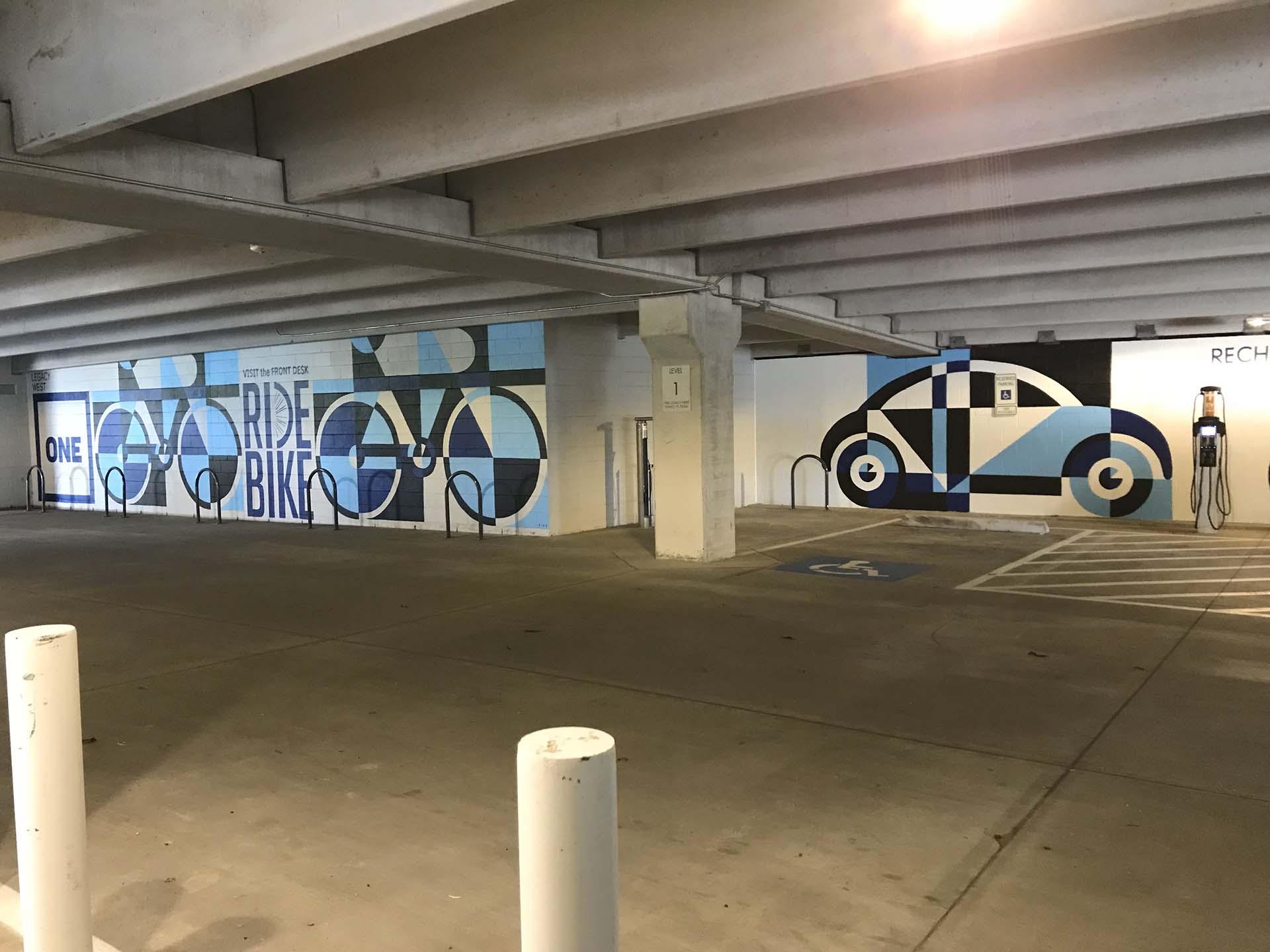 Car mural - custom mural - mural - Dace Kidd - Mural Artist Tx